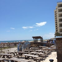 Photo taken at Flora-Bama Lounge, Package, and Oyster Bar by Victor Z. on 5/5/2012