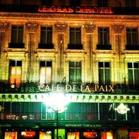 Photo taken at Café de la Paix by Avilon J. on 2/24/2012