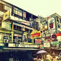 Photo taken at Khao San Road by Yuki M. on 3/12/2012