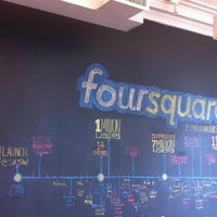 Photo taken at Foursquare HQ by Rachana M. on 8/24/2012