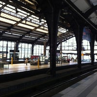 Photo taken at Bahnhof Berlin Friedrichstraße by Eteri on 6/22/2012