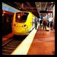 Photo taken at Arlanda Express (Stockholm C) by Thomas B. on 9/5/2012