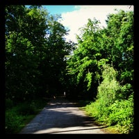Photo taken at Bois de Boulogne by Elysia M. on 5/13/2012