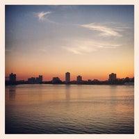 Photo taken at Harvard Bridge by Kyle P. on 7/12/2012