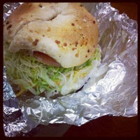 Photo taken at Chicago Bagel Authority by Chris D. on 6/5/2012