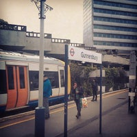 Photo taken at Gunnersbury London Underground and London Overground Station by HipsterHornet F. on 4/23/2012