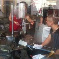 Photo taken at Eis-Bäckerei by Uwe H. on 7/1/2012