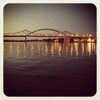 Photo taken at Mississipi river by Jo K. on 8/22/2012