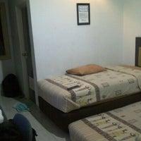 Photo taken at Hotel Trijaya by Edwin N. on 6/8/2012
