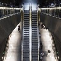 Photo taken at Kongens Nytorv St. (Metro) by Thomas S. on 7/12/2012
