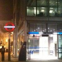Photo taken at Euston Square London Underground Station by Mariana E. on 3/19/2012