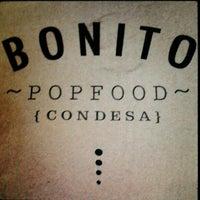 Photo taken at BONITO ~popfood~ by Kharla S. on 2/4/2012