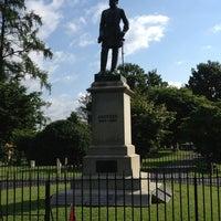 "Photo taken at Thomas ""Stonewall"" Jackson's Grave by Brooke B. on 6/11/2013"