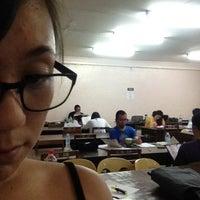 Photo taken at University of Visayas - GCM Library by Mariko I. on 3/13/2013