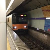 Photo taken at Hanzomon Line Kiyosumi-shirakawa Station (Z11) by yoshi_rin on 9/4/2016