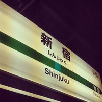 Photo taken at Shinjuku Station by hiro C. on 7/13/2013