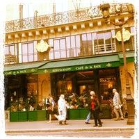 Photo taken at Café de la Paix by Suely L. on 4/16/2013
