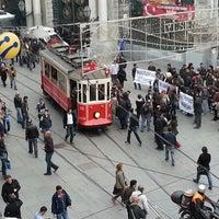 Photo taken at Taksim by Merve K. on 11/1/2013