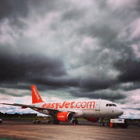 Photo taken at Belfast International Airport (BFS) by Paul D. on 6/13/2013