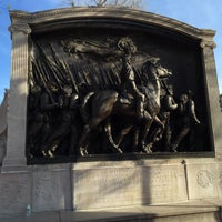 Photo taken at Robert Gould Shaw Memorial by Peter N. on 4/24/2016