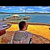 Photo taken at Nautico Praia Clube by Breno D. on 1/22/2014