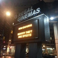 Photo taken at Regal Cinemas Bethesda 10 by Michael G. on 2/14/2013