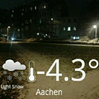 Photo taken at Aachen West Station by An Aun P. on 1/15/2013