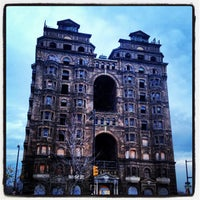 Photo taken at Divine Lorraine Hotel by Stacey M. on 12/2/2012
