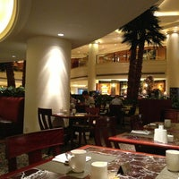 Photo taken at Marriott Cafe by ellie ʕ. on 6/17/2013
