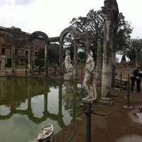 Photo taken at Villa Adriana by Giulia O. on 4/2/2013