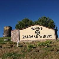Photo taken at Mount Palomar Winery by Belinda B. on 3/11/2013