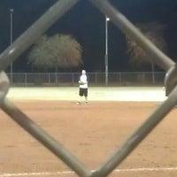 Photo taken at Kiwanis Park Softball Complex by Jake M. on 3/11/2013