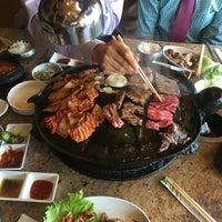 Photo taken at Shin Chon Garden Restaurant by Gurkan O. on 8/29/2016