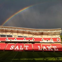 Photo taken at Rio Tinto Stadium by Osva on 7/14/2013