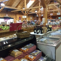 Photo taken at Mann Orchards Farm Store & Bakery by Kasie C. on 10/23/2015