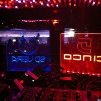 Photo taken at Cinco Club by DJ Sid V. on 10/19/2012