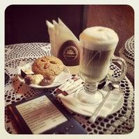 Photo taken at Lviv Handmade Chocolate by Marina P. on 5/21/2013