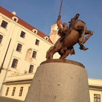 Photo taken at Bratislava Castle by Petra G. on 11/28/2012