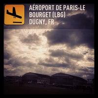 Photo taken at Aéroport Paris-Le Bourget (LBG) by Martin G. on 6/22/2013