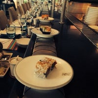 Photo taken at Hai Sushi Kalamış by Nihan Y. on 3/9/2014
