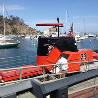 Photo taken at Catalina Semi-submersible Undersea Tour by Lauren L. on 9/9/2013