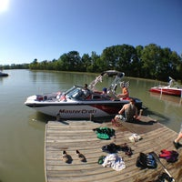 """Photo taken at Bennetts Ski and Wakeboard School by Anthony """"ACE"""" C. on 4/13/2013"""