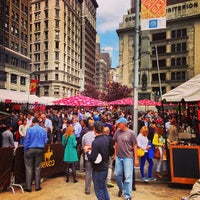 Photo taken at Mad. Sq. Eats by Chris M. on 5/6/2013