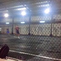Photo taken at Lampung Futsal by Muhammad H. on 4/23/2013