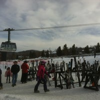 Photo taken at Jay Peak Resort by Marc-Andre N. on 3/9/2013