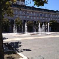 Photo taken at Plaza Yamaguchi by Úrsula P. on 8/17/2014