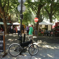 Photo taken at Exmouth Market by Andrea G. on 9/5/2013