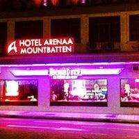 Photo taken at Arenaa Mountbatten Hotel by Satoshi K. on 11/29/2012