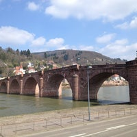 Photo taken at Alte Brücke by Jana B. on 3/22/2013