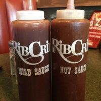 Photo taken at RibCrib BBQ & Grill by Joshua P. on 6/15/2013